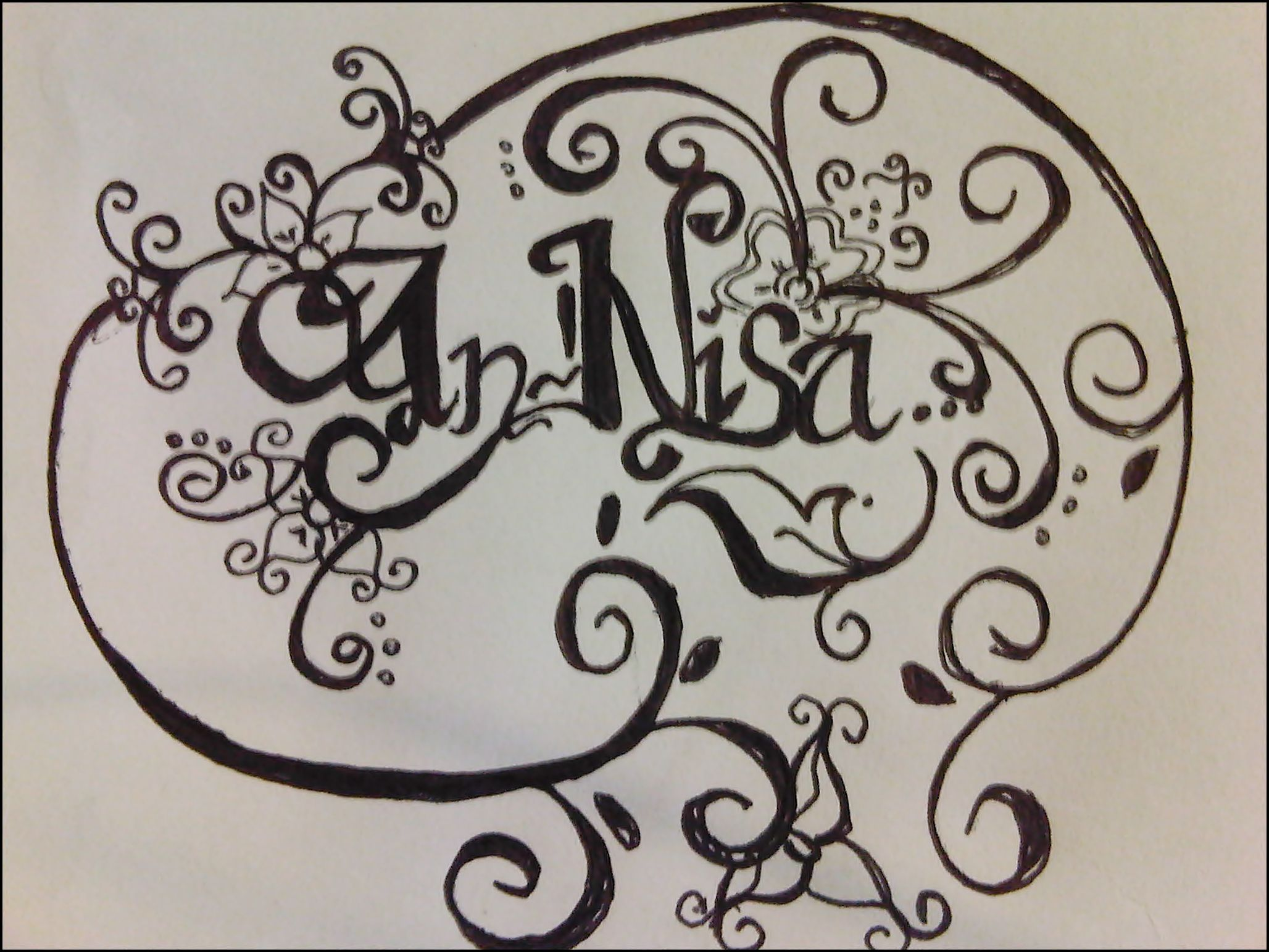 Uncategorized Name Sketches my name is annisa sketch and drawing pinterest sketches annisa