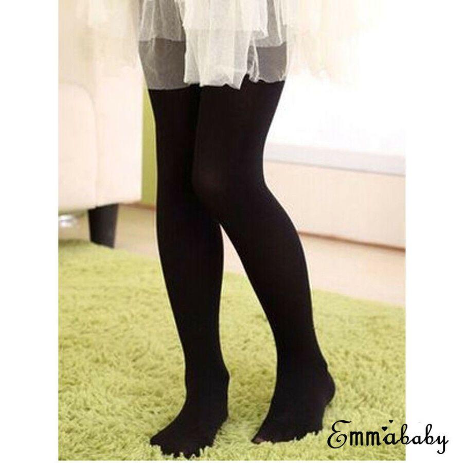35b52f8e4ed Girls Kids Tights Velvet Pantyhose Hosiery Ballet Dance Socks Candy  Colors Velvet Pantyhose Tights
