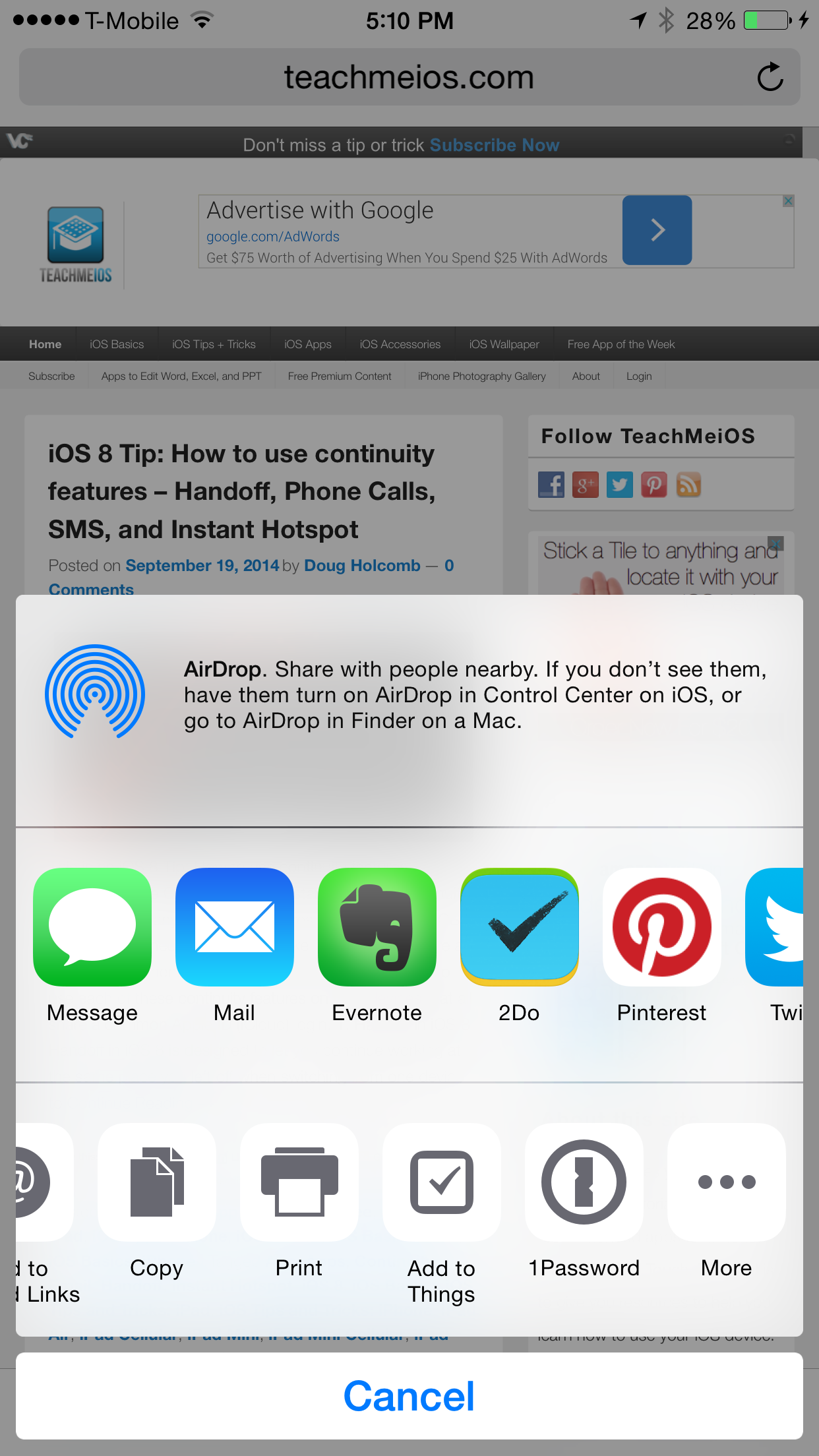 iOS 8 Tip How to use extensions in Safari on iPhone, iPad