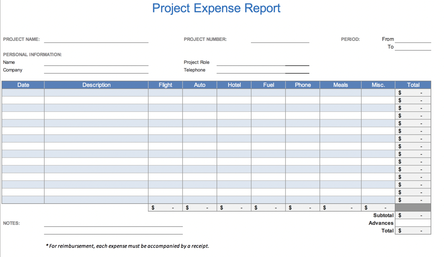 Free Excel Expense Report Template Horizonconsulting Co Regarding Expense Report Template Excel 2010 In 2020 Spreadsheet Template Microsoft Excel Business Template
