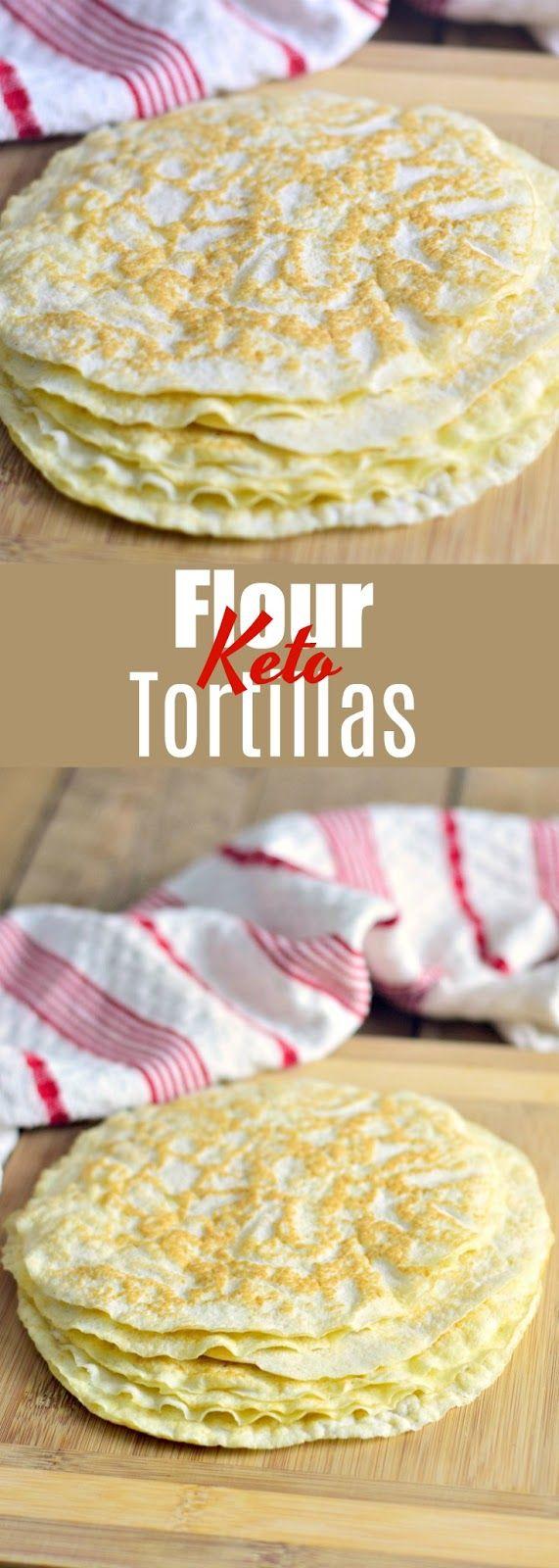 Keto Flour Tortillas #ketodinnerrecipes