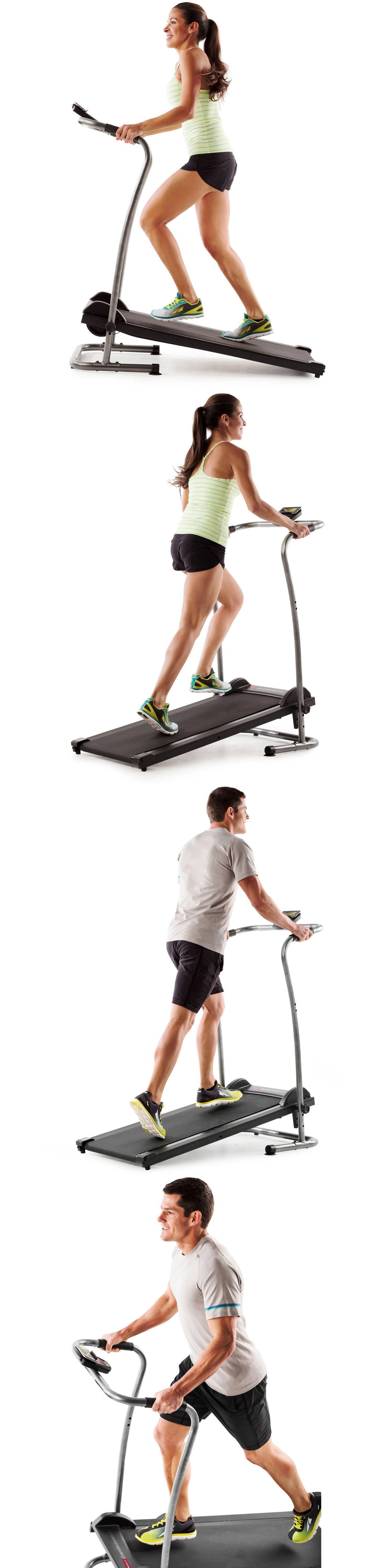 Treadmills 15280 Weslo Cardio Stride 40 Manual Treadmill Workout Wiring Diagram Fitness Gym 2 Position Running