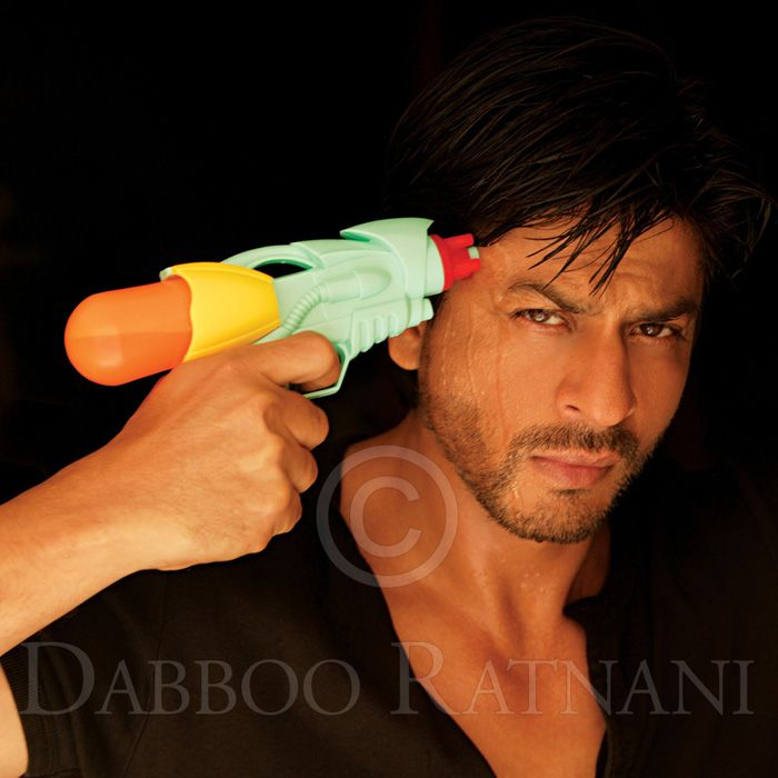 Image result for shahrukh water gun