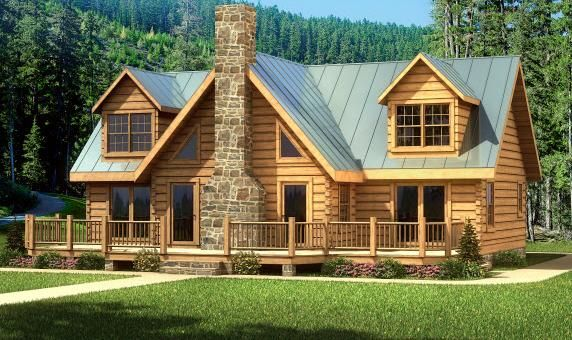 Always Wanted To Have Time/money For A Log Cabin By A Lake
