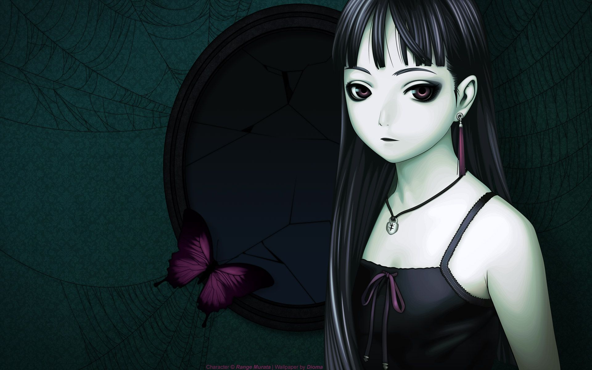Download Anime Goth Girl Wallpaper 1920x1200 | Full HD ...