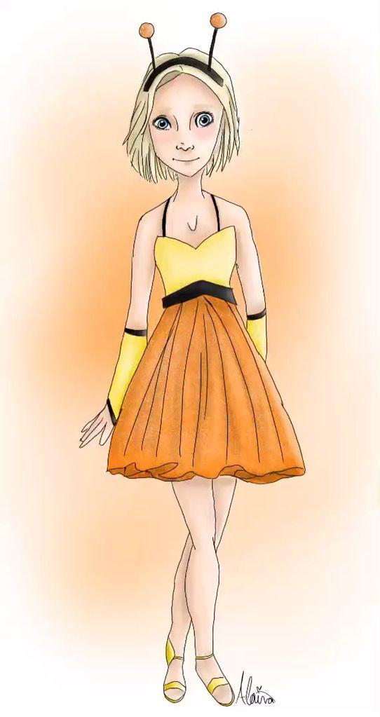 Cress In Butterfly Lunar Dress Lunar Chronicles Fan Art Art By