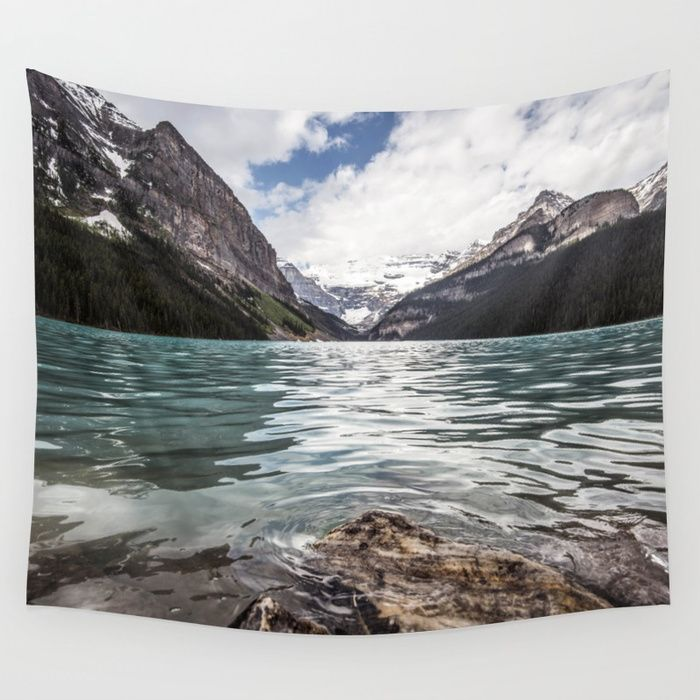 Buy Landscape Lake Louise Wall Tapestry By Wildhood Worldwide Shipping Available At Society6 Com Just One Of Millions Of Lake Landscape Lake Louise Landscape