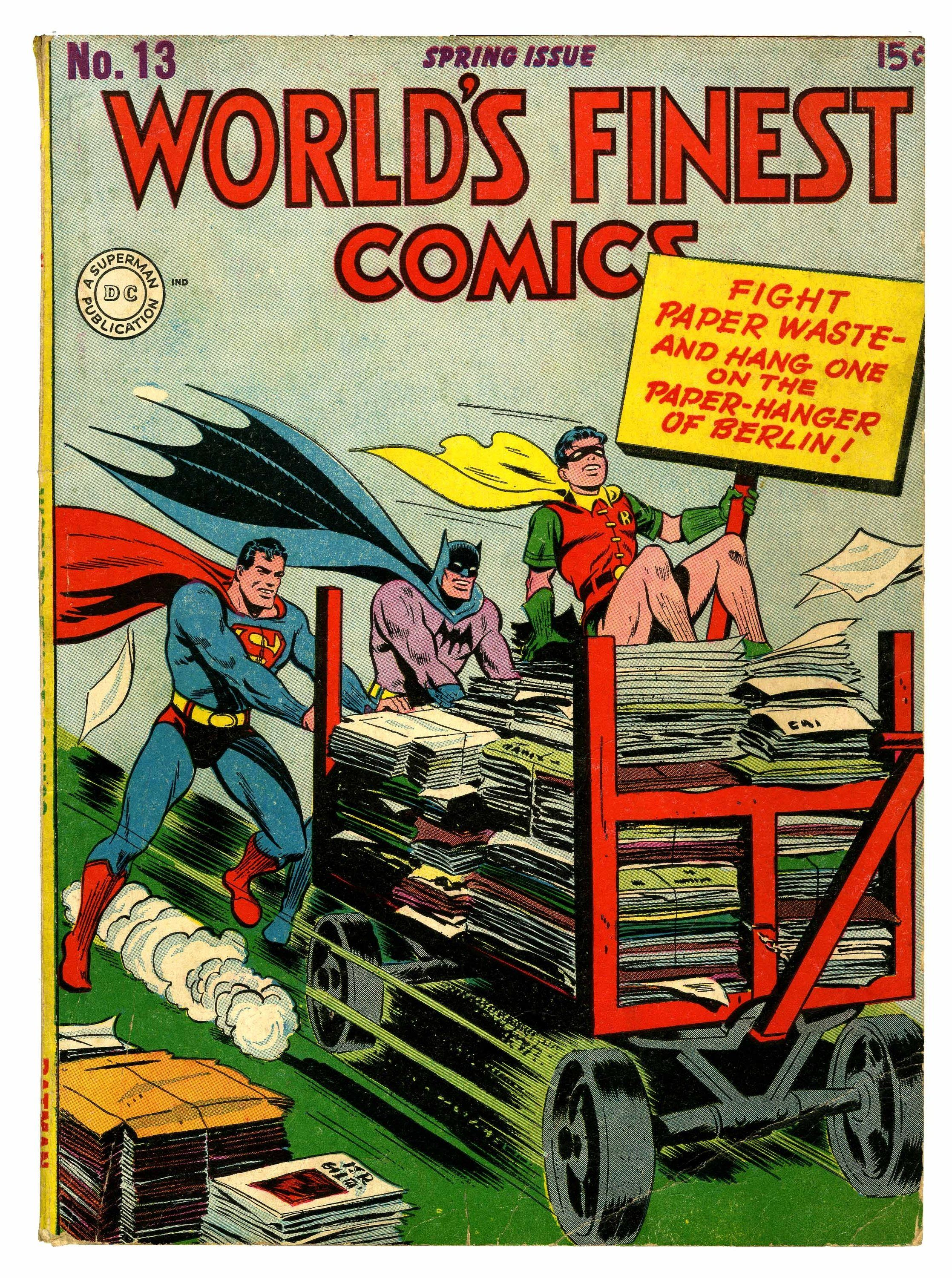 1944 - Before our comic book heroes\' values were replaced with ...