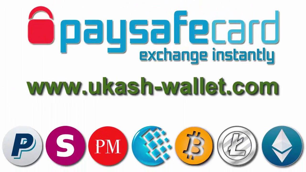 Converting Voucher Paysafecard To Paypal Skrill Perfect Money Wm Btc