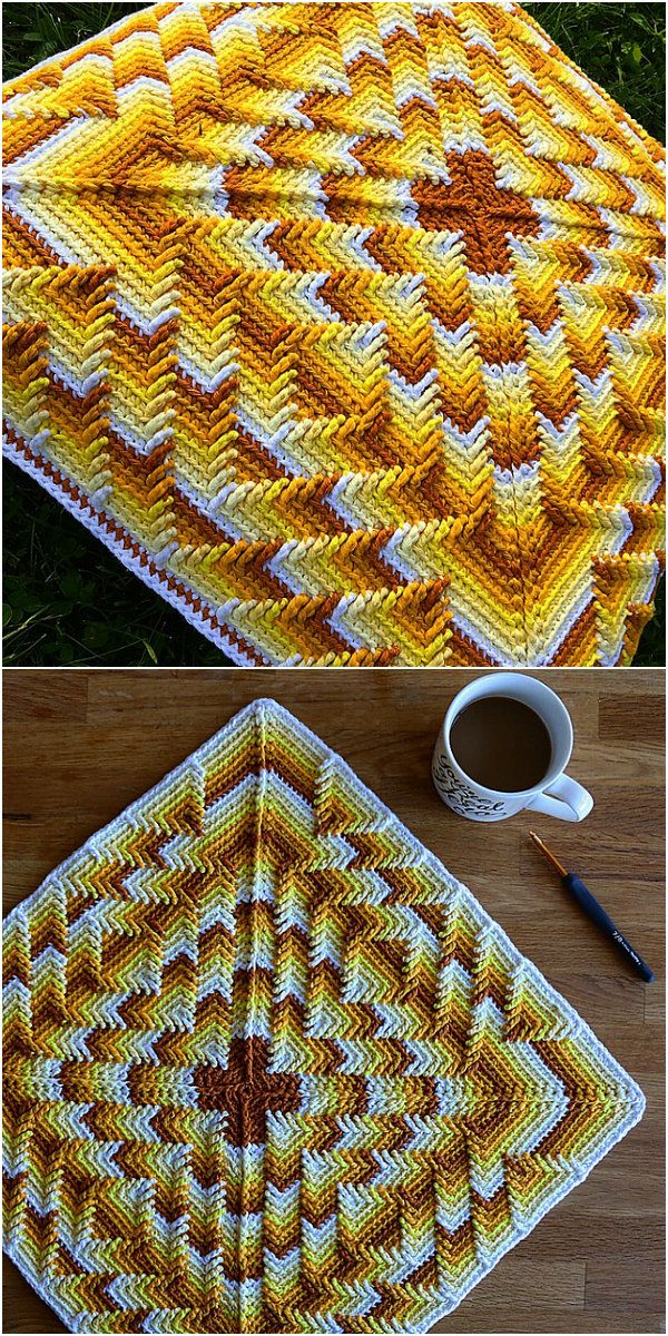 Nomad by Fate Pillow Free Crochet Pattern | Crochet | Pinterest ...