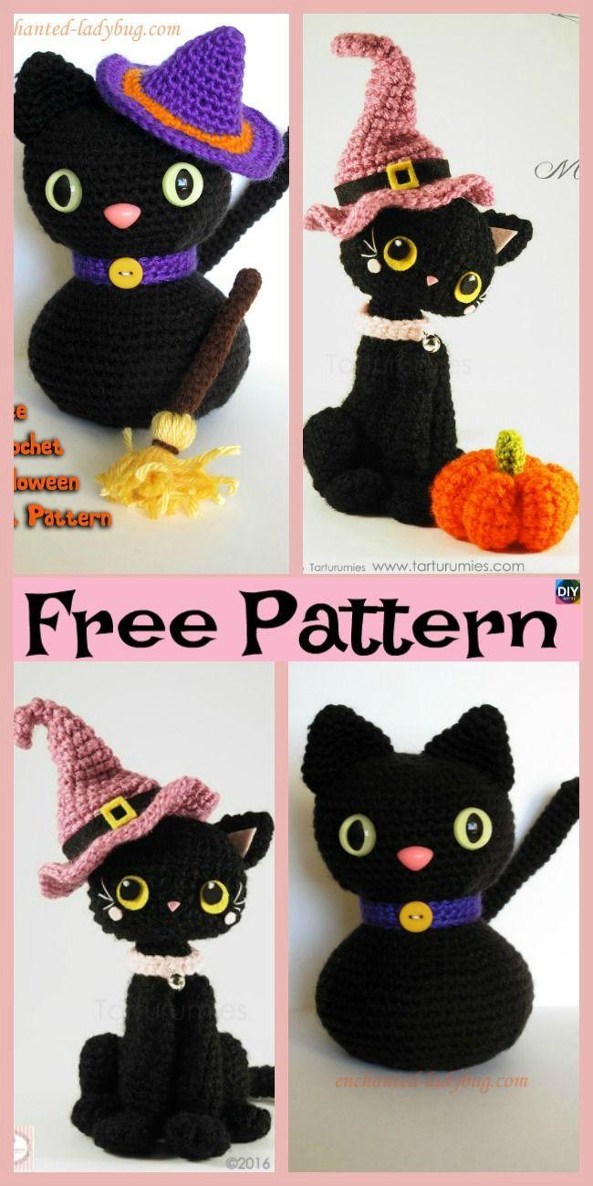 Amigurumi Black Cat — Free crochet pattern – Tillysome | 1300x650
