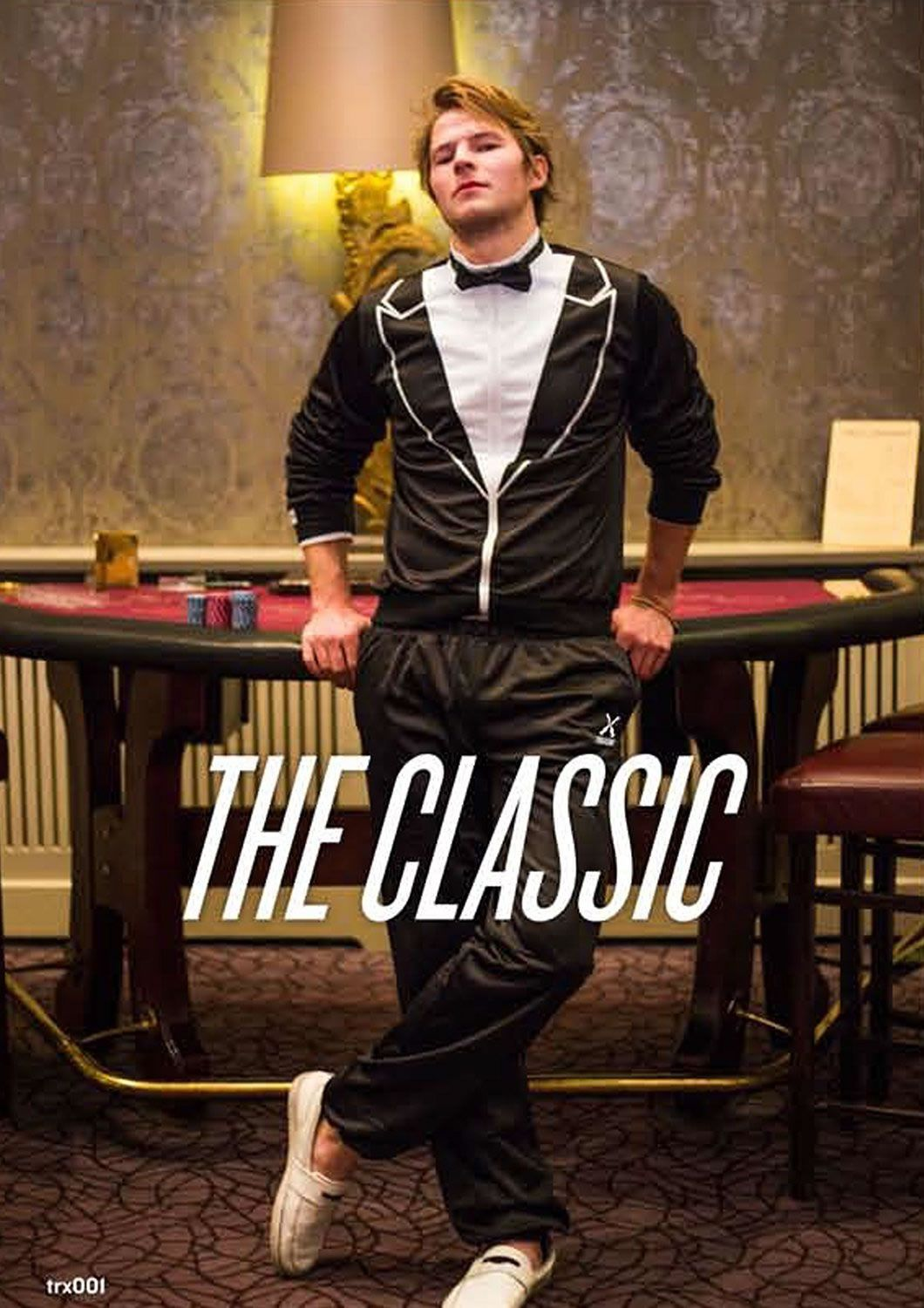 Traxedo Tracksuit Tuxedo Gives Stuffy Formal Suits a Much