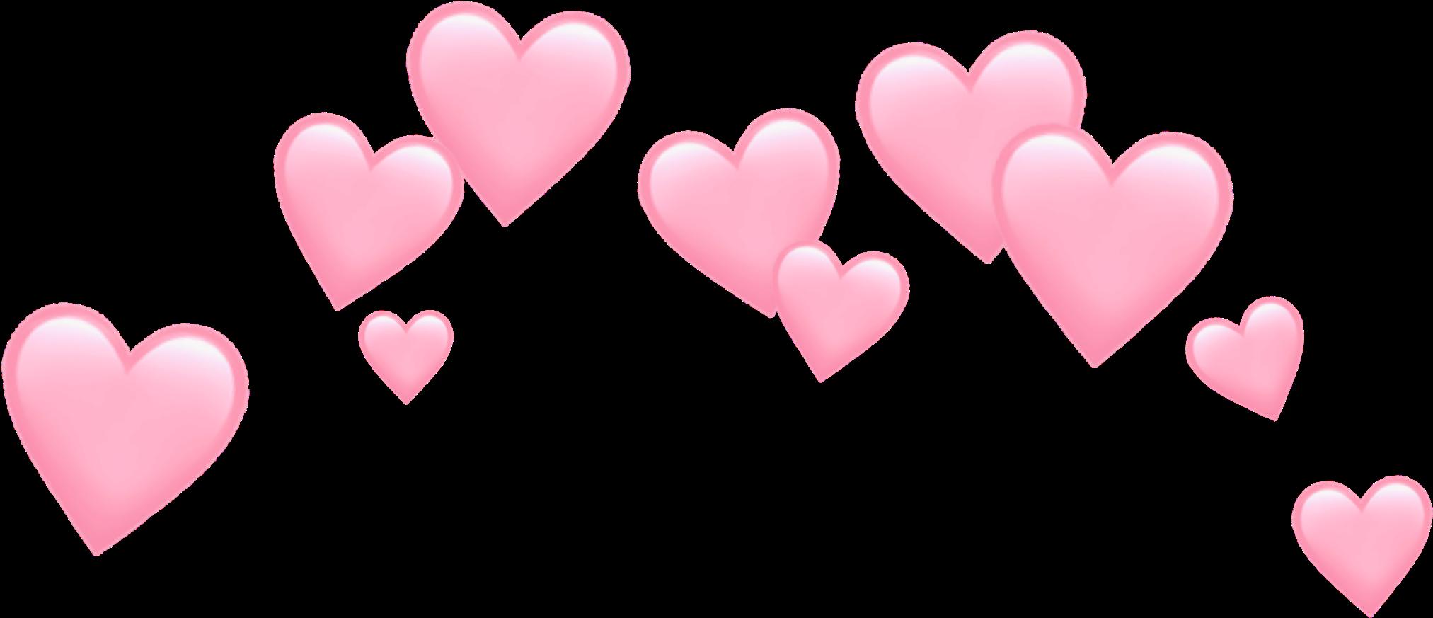 Para Fotos 3 Emoji Clipart Pink Heart Heart Emoji