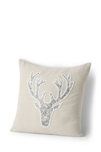 40x40 Holiday Decorative Pillows From Lands' End Christmas Enchanting Lands End Decorative Pillows
