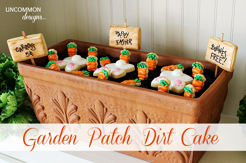 Easter Garden Patch Dirt Cake Recipe With Images Dirt Cake