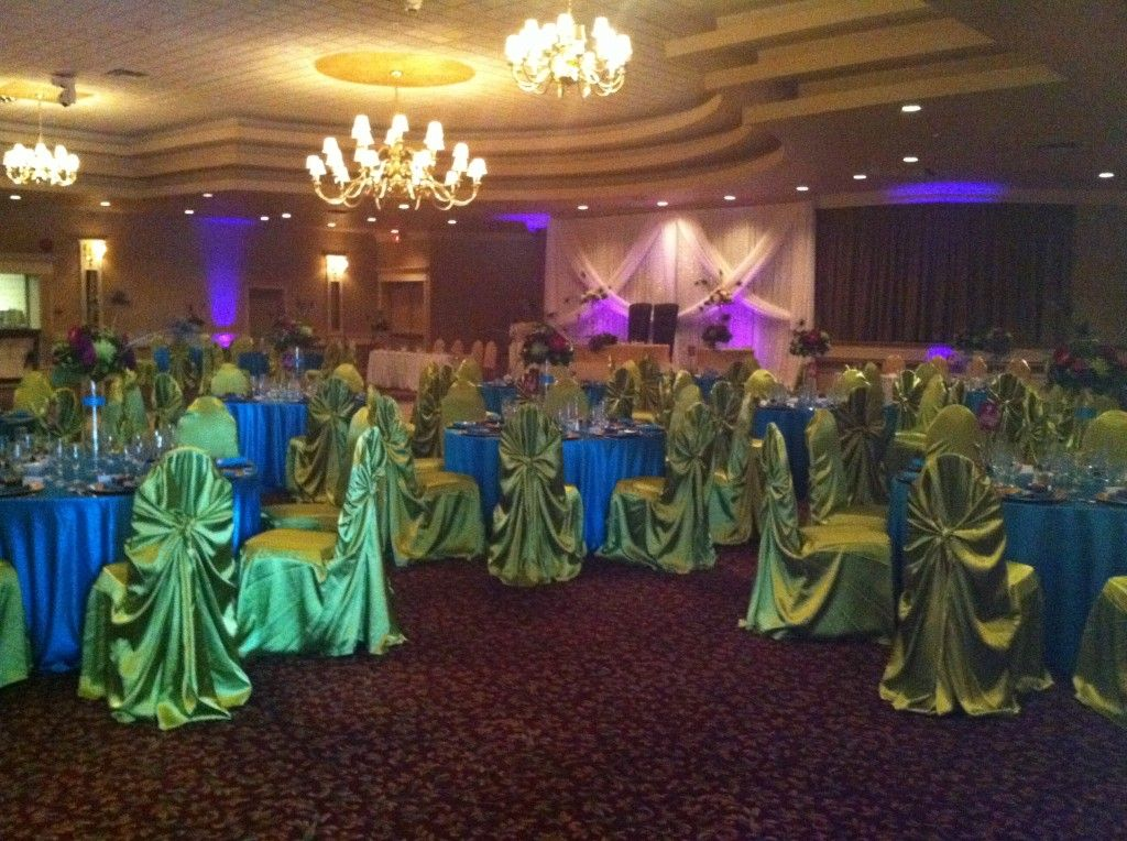 Peacock Wedding Reception Decorating Ideas Wedding Blue