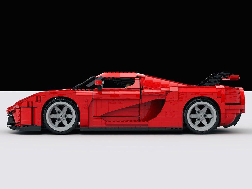 LEGO Koenigsegg Regera MOC