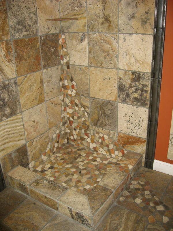 Install River Rock Tile As A Backsplash Doityourself