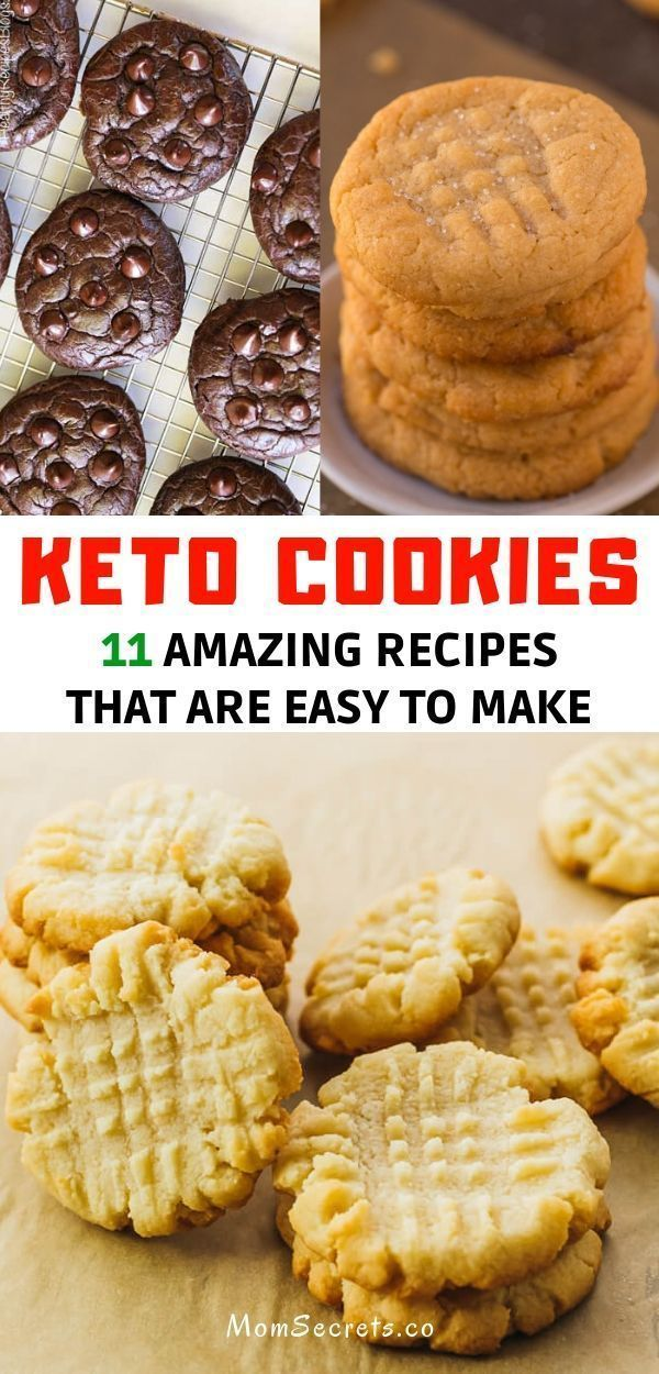 Best Keto Cookies - Paleo, Low Carb & Healthy Recipes-#Carb