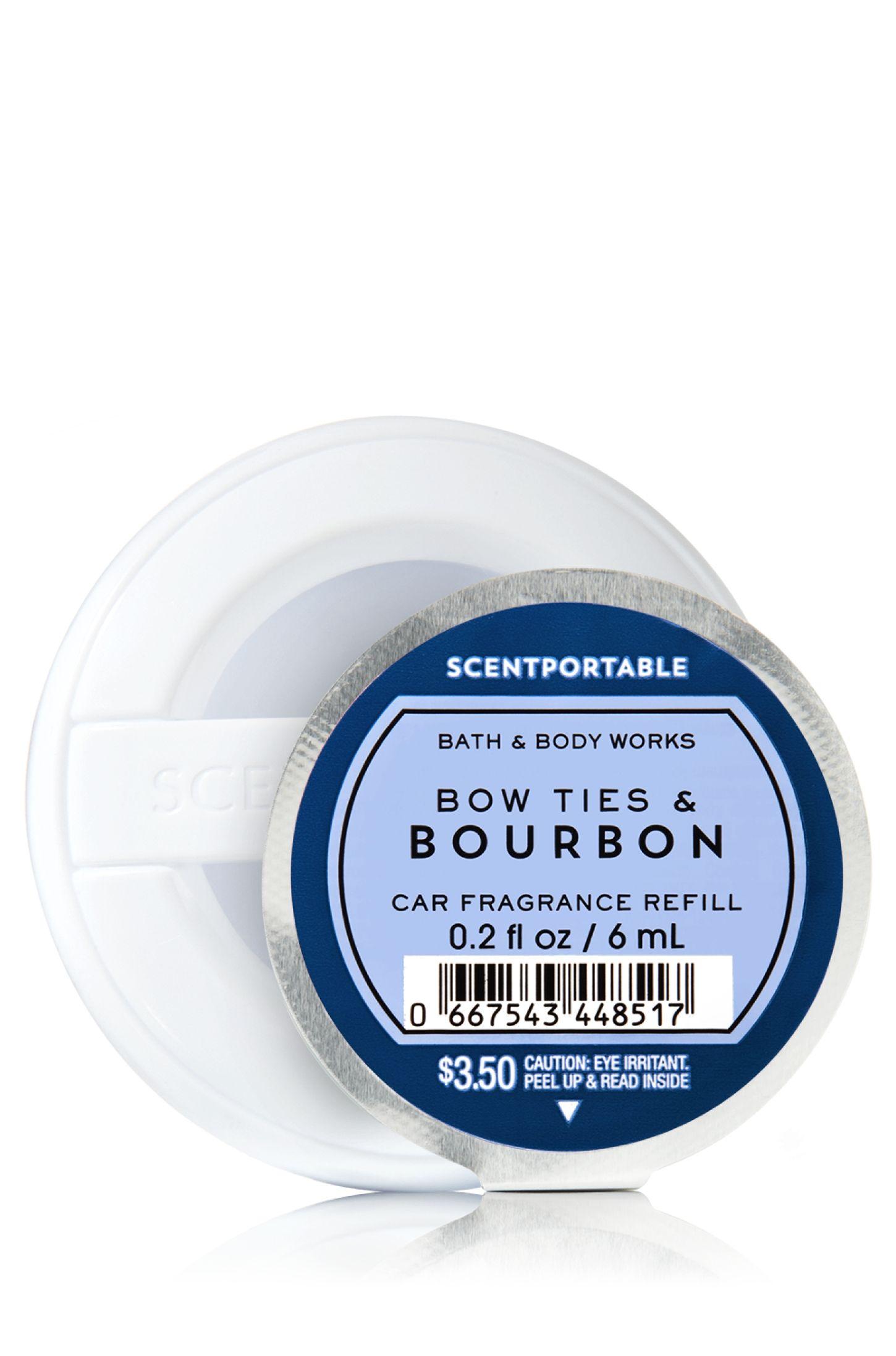 Bowties Bourbon Scentportable Fragrance Refill Home Fragrance
