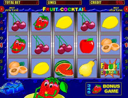 играть online fruit cocktail