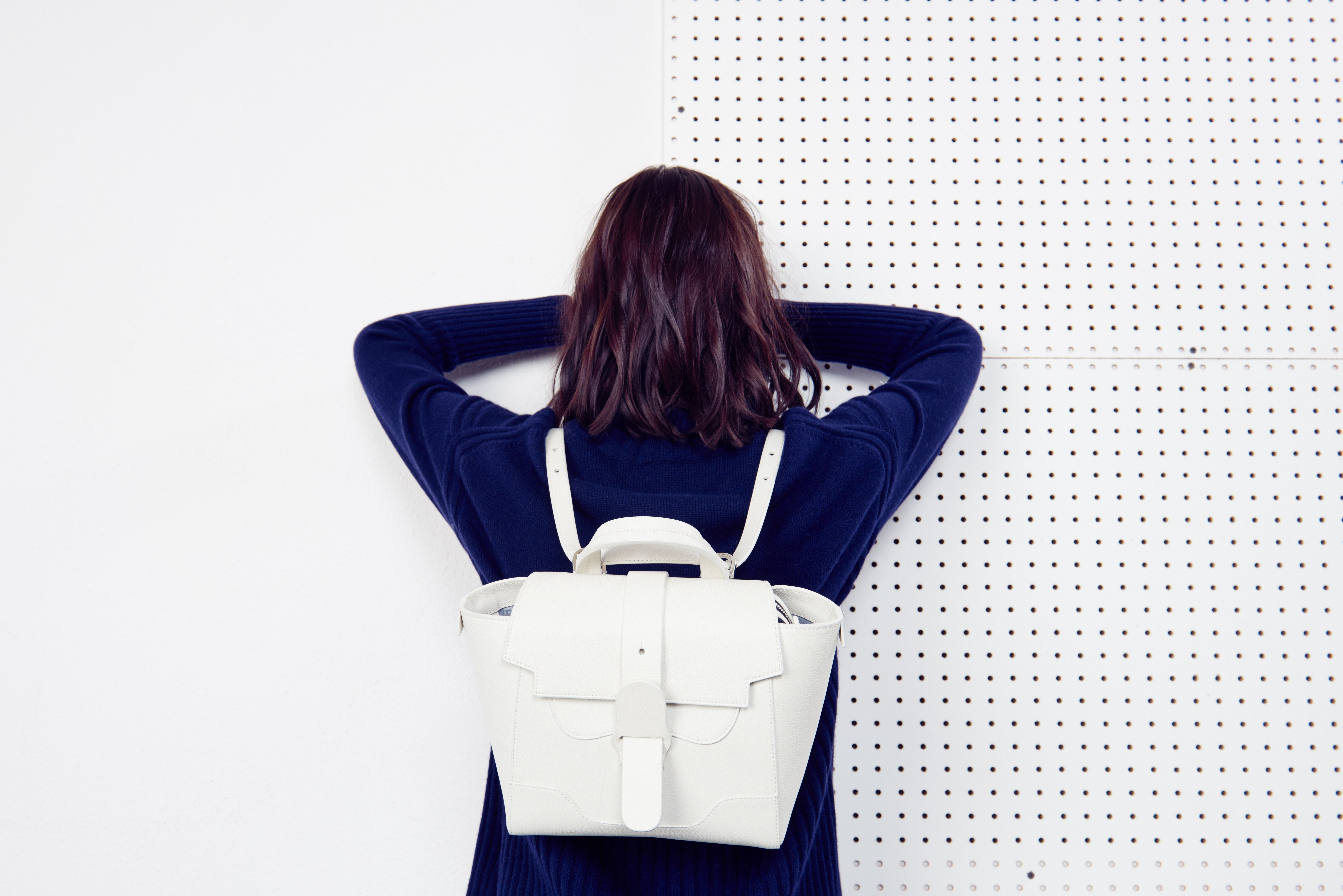The Mini Maestra Bag, in Cream | SENREVE