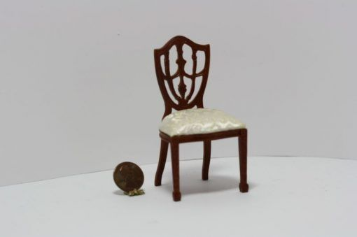 Traditional Empire Walnut Dining Room Chair  Miniature Fine Pleasing Dining Room Empire Decorating Inspiration