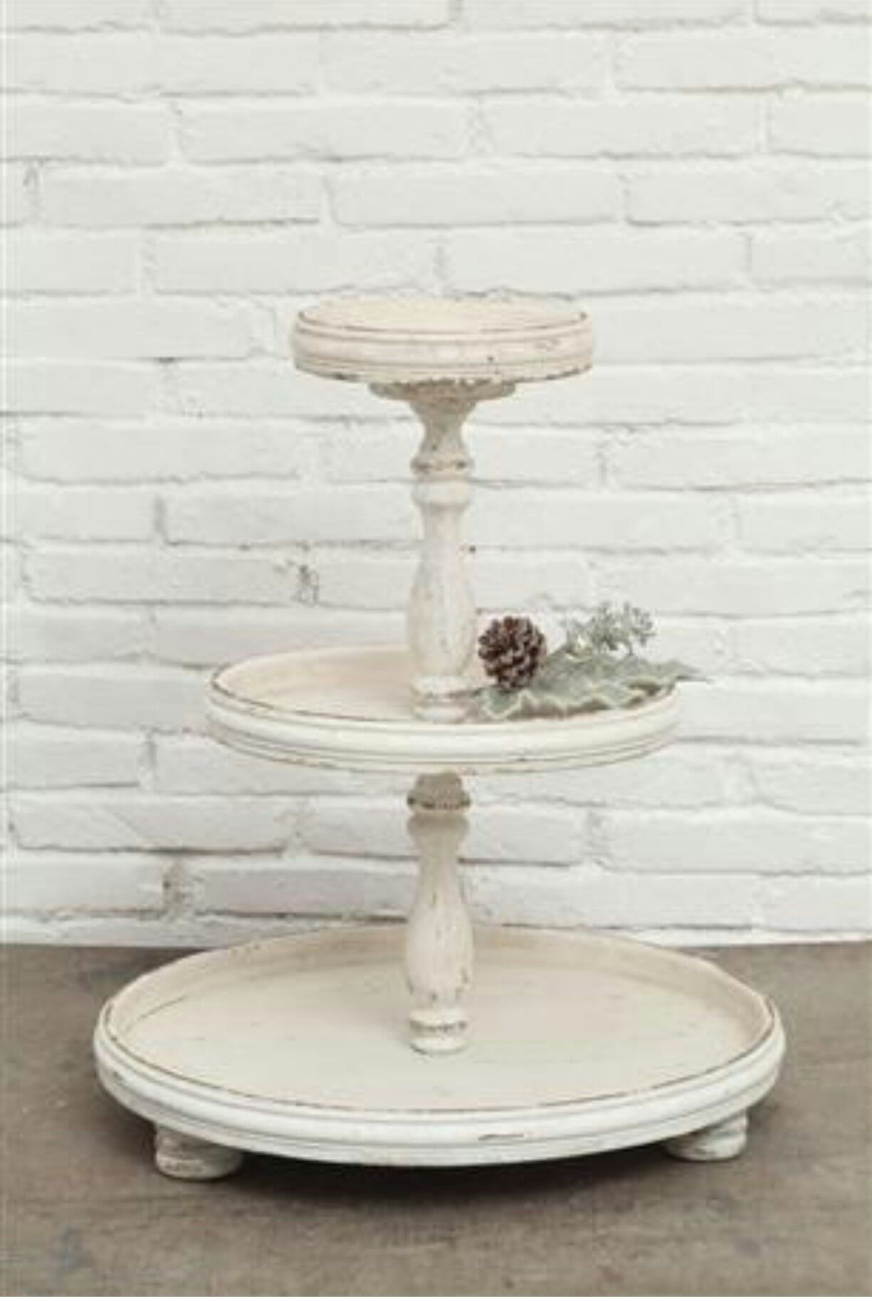 3 Tiered Tray Painted White Tiered Tray Diy Tiered Stand Wood Tiered Stand