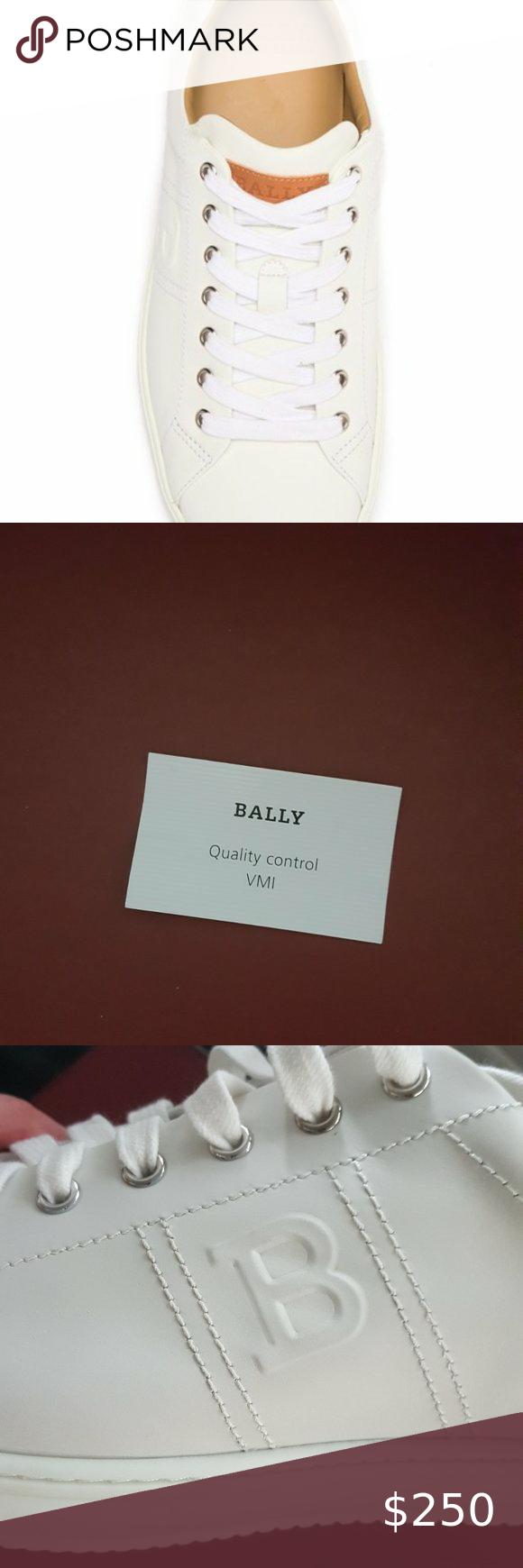 BALLY Orivel Calf Plain Sneaker in 2020