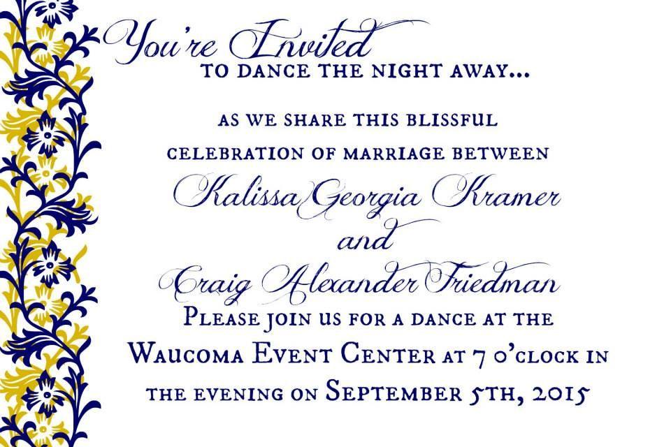 Just Dance Wedding Invitation Wording Wedding Invitation Wording Wedding Invitations Wedding