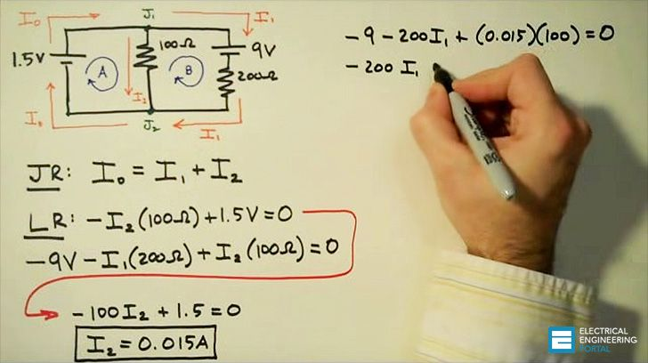 Two extremely important principles in electric circuits were