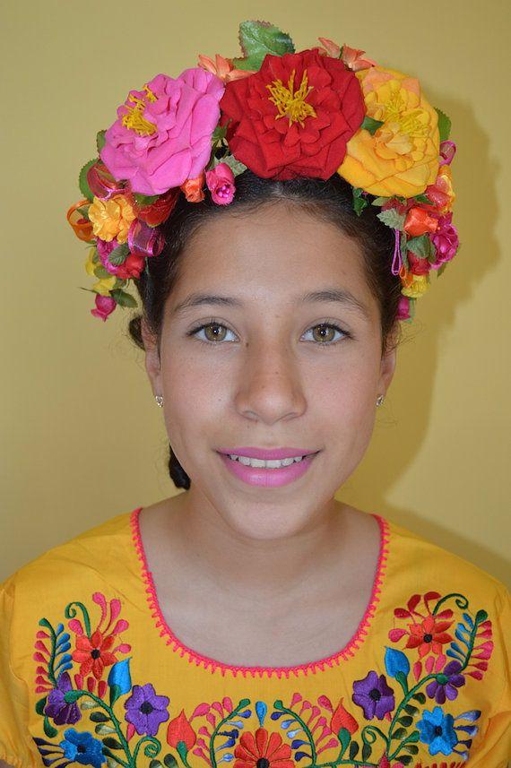 Mexican headpiece | Etsy