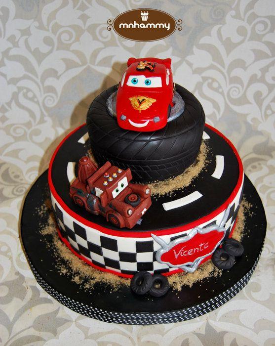 Outstanding Queque Con Imagenes Torta Cars Pasteles De Cars Torta De Funny Birthday Cards Online Elaedamsfinfo