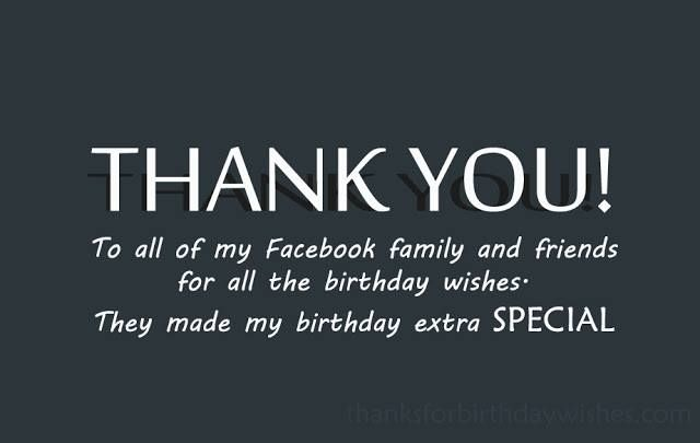 300 Thank You Messages For Birthday Wishes