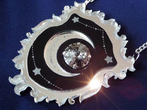 Celestial Princess necklace (black) – Glitterbomb