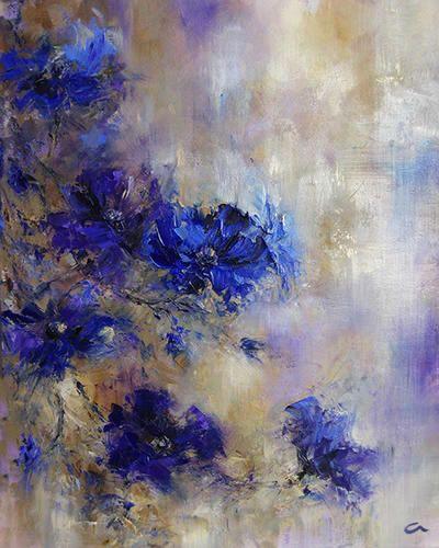 Alexandrina Karadjova Musetouch Flower Art Abstract