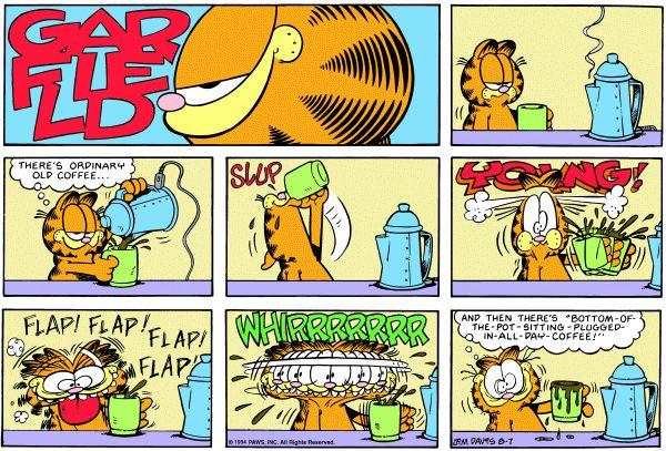 Coffee Garfield Garfield Comics Comics Love Funny Comics