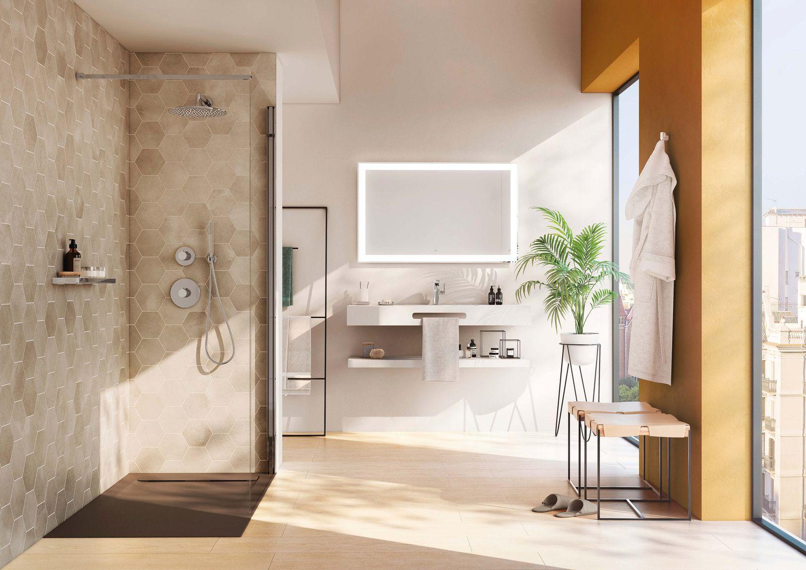 ¡Vuélvete a enamorar de tu baño! | Platos de ducha ...