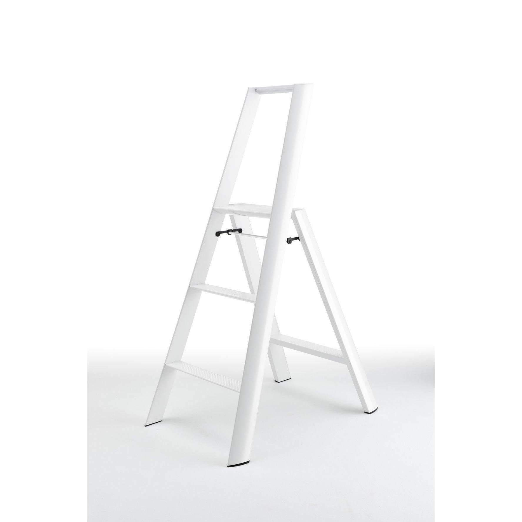 Photo of Lucano 3-Step Ladder – White