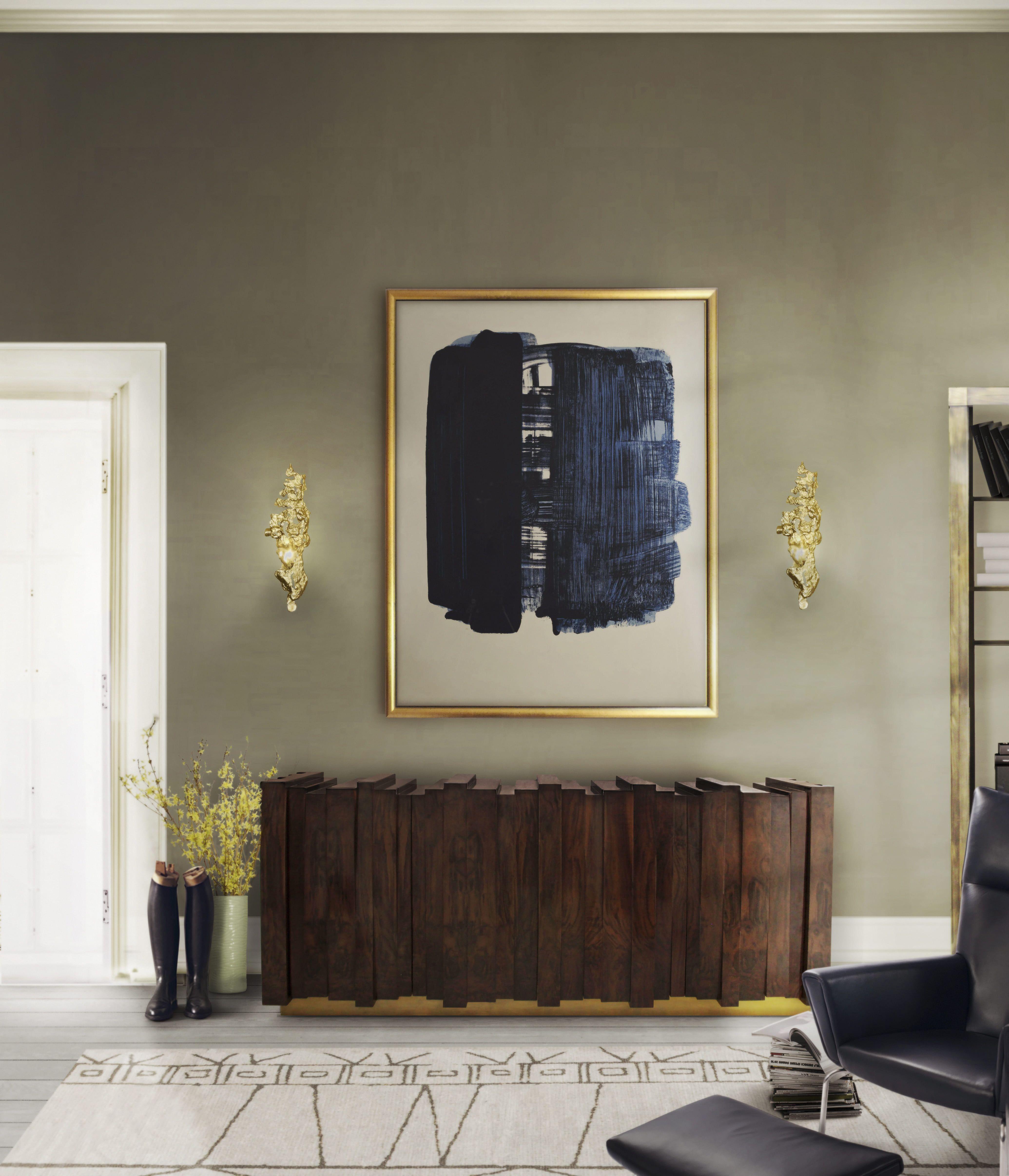 hochwertige möbel | designer möbel | messing beistelltisch
