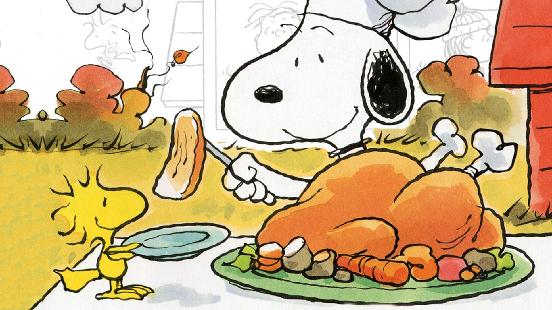 1920x1080 Charlie Brown Thanksgiving Wallpaper (42+ images