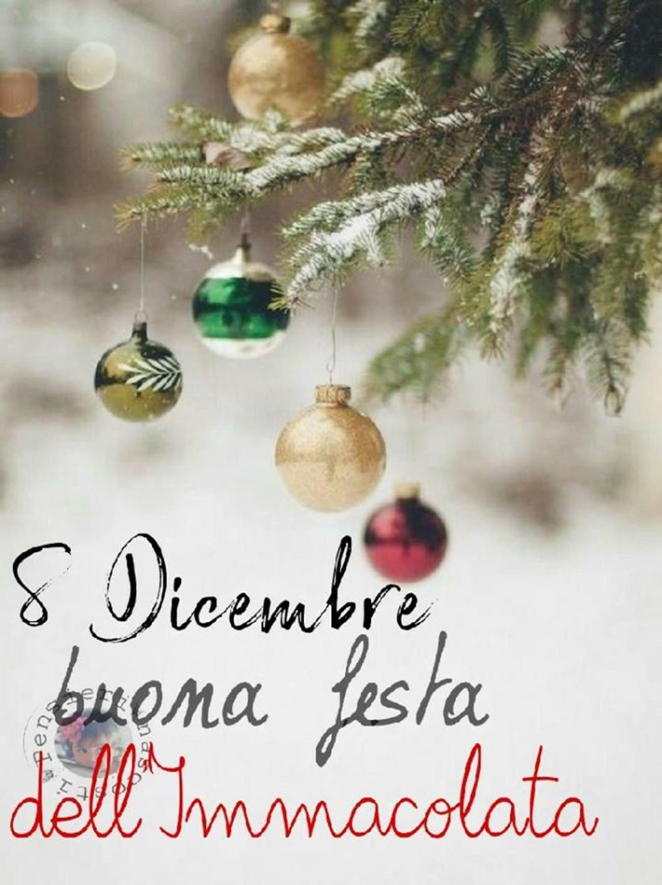 Albero Di Natale 8 Dicembre.Immagini Da Mandare Per L 8 Dicembre 5405 Christmas Bulbs Christmas Ornaments Christmas