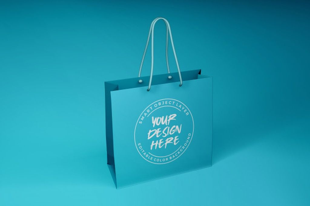 Download Gift Bag Mockup Paid Sponsored Sponsored Mockup Bag Gift Bag Mockup Mockup Template Branding Mockups