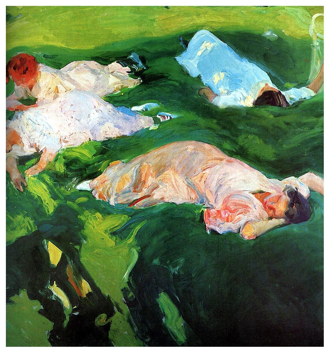 Rickerlrthemes Joaquin Sorolla Art Gallery Wrap Canvas
