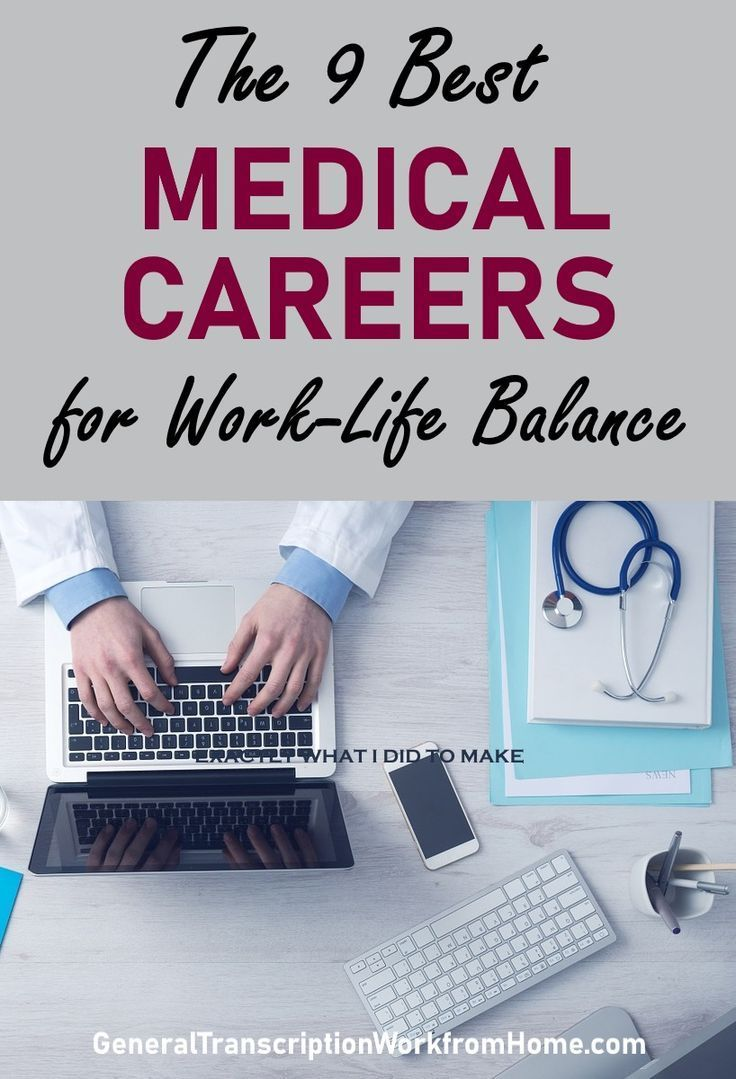 Die 10 besten medizinischen Karrieren für WorkLife