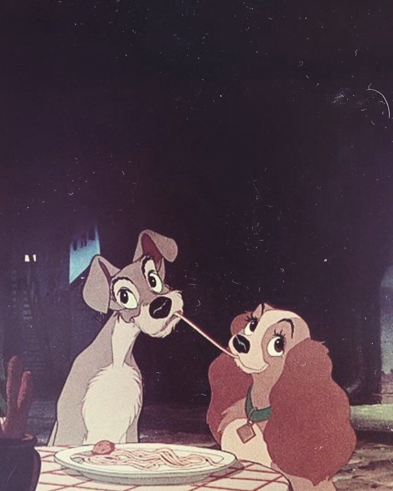 Lady And The Tramp Cute Disney Wallpaper Disney Wallpaper Cartoon Wallpaper Iphone