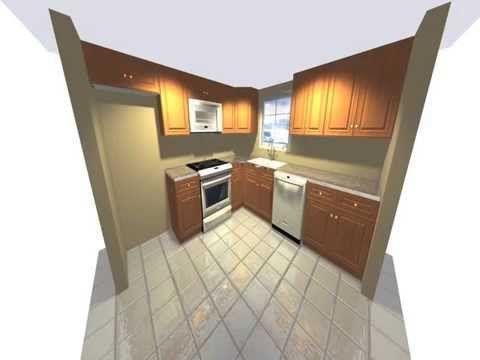 10 X 10 Kitchen Design Stunning 10 X 10 3D Kitchen Design Transformation  Httpwww Decorating Design