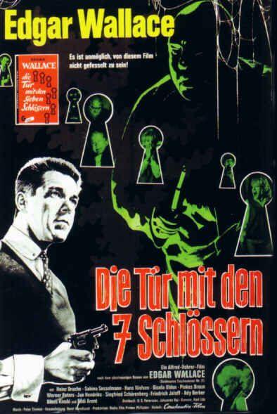 Die Tur Mit Den Sieben Schlosslern 1962 W Ger D Alfred Vonrer Heniz Dache Eddi Arent Filme Klassiker Altes Filmplakat Filme
