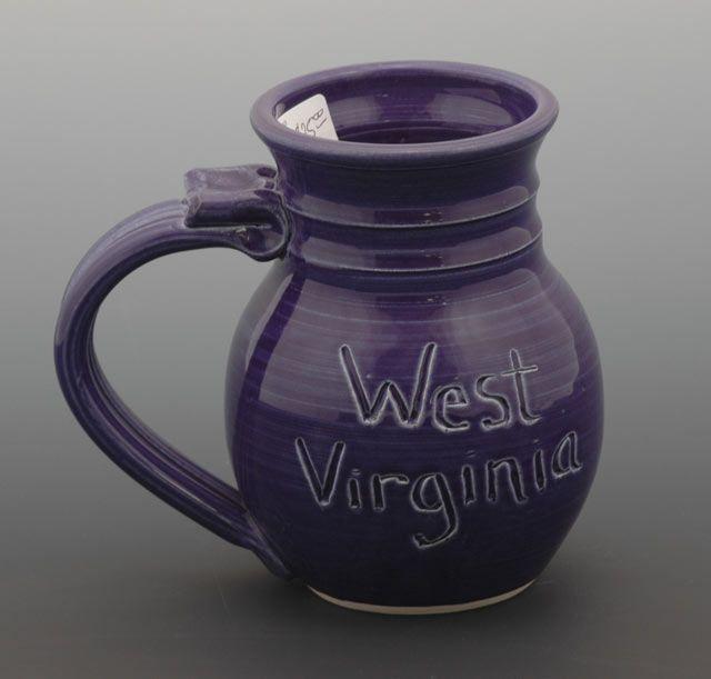 Cobalt Blue Handmade Ceramics Ceramics Mason Jar Mug