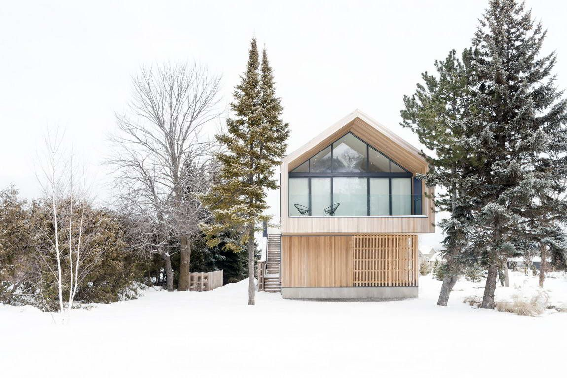 Maison Glissade by Atelier Kastelic Buffey.